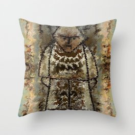 Figurine by rafi talby Throw Pillow