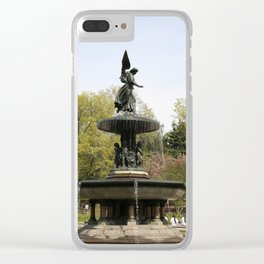 Angel Of he Waters Clear iPhone Case
