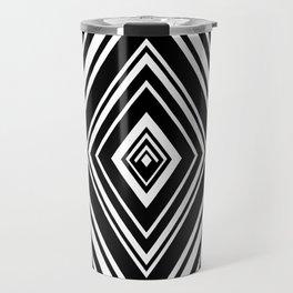 SCORN BLACK AND WHITE BY SUBGRL Travel Mug
