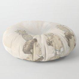 Pineapple Ladies Floor Pillow
