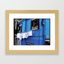 Blue Palace Framed Art Print