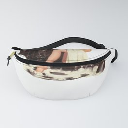 Vintage Pinup Girl Clipart Bath Time Fanny Pack