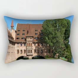 Old Architecture  Nuremberg Rectangular Pillow