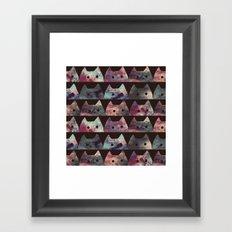 cat-302 Framed Art Print