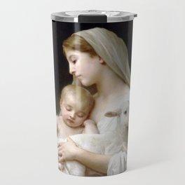 "William-Adolphe Bouguereau ""L'Innocence (Innocence)""(1893) Travel Mug"