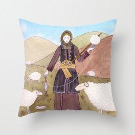 Souliot Throw Pillow