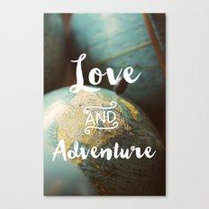 Love & Adventure Canvas Print
