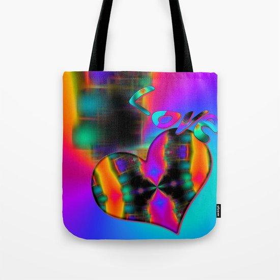 Love in Color Tote Bag