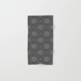 Tangled Mandala Pattern Hand & Bath Towel