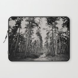 the path through the forest ... Laptop Sleeve