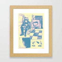 Soft Lead Framed Art Print