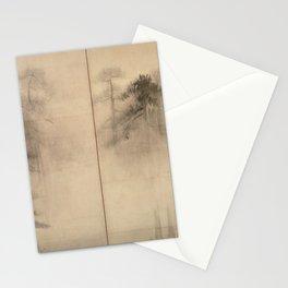 Pine Trees Six-Fold Azuchi-Momoyama Period Japanese Screen - Hasegawa Tohaku Stationery Cards