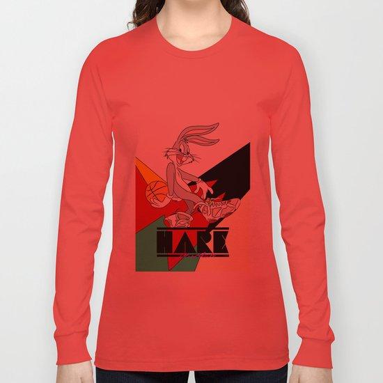 HARE JORDAN Long Sleeve T-shirt by ea88  49445c41b7