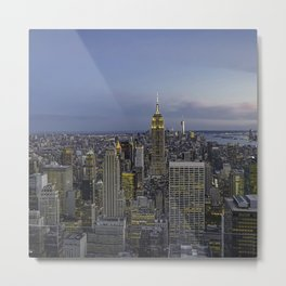 My golden city. Metal Print