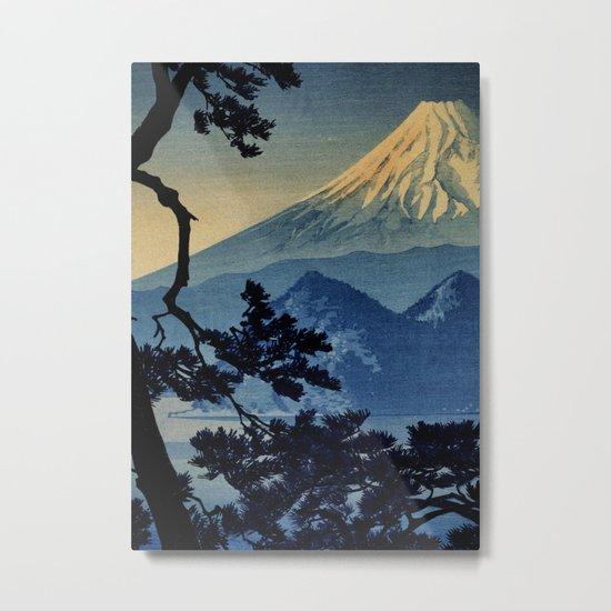 Seeing Far Within at Yonu Metal Print
