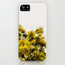 Beautiful Yellow Tree iPhone Case