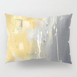 50 Shades of Grey and Yellow Pillow Sham