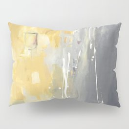 50 Shades of Grey and Yellow Pillow Sham