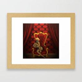 The Crimson Catbird Framed Art Print