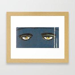 Gatsby Stare  Framed Art Print