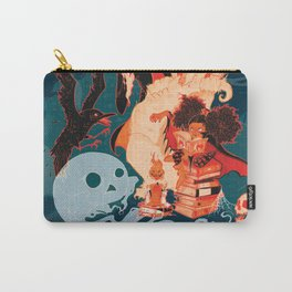 Spooky Books Carry-All Pouch