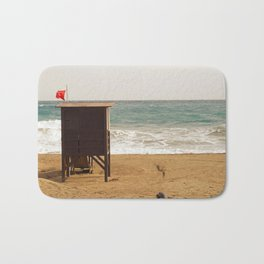 Empty Beach Bath Mat