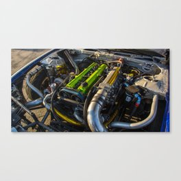 2JZ built by SSS Motorsports Canvas Print