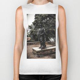Stevie Ray Vaughan Statue - Austin,Texas Biker Tank