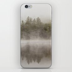 trees in the morning mist iPhone & iPod Skin
