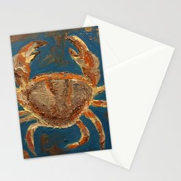 Magical crab Stationery Cards