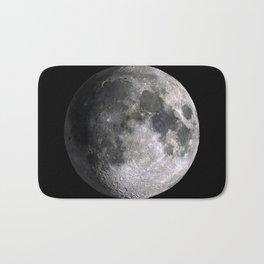 The Full Moon Super Detailed Print Bath Mat
