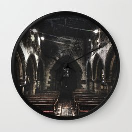 Places of Tranquility. Wall Clock
