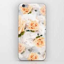 YELLOW ROSES WHITE ROSES iPhone Skin