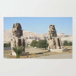 The Clossi of memnon at Luxor, Egypt, 2 Rug