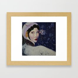 Qing Yi Framed Art Print
