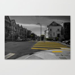 Street of San Francisco Canvas Print