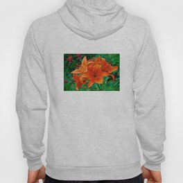 Orange Tiger Lilies - The Peace Collection Hoody
