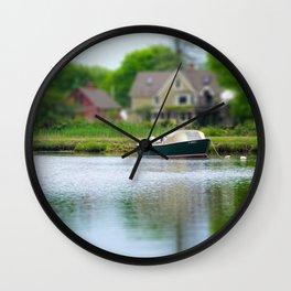 MYSTIC MORNING Wall Clock