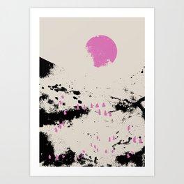 Pink vibe 1 Art Print