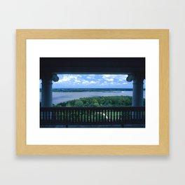 Natchez Lookout Framed Art Print