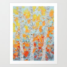 Aspen October No. 2 Art Print