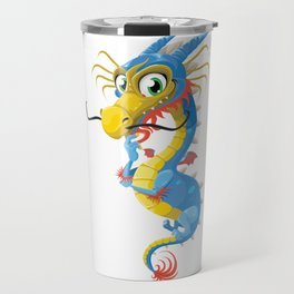 Cartoon Dragon Travel Mug