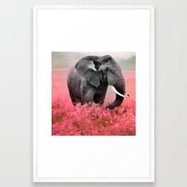 Ele-Phant  Framed Art Print