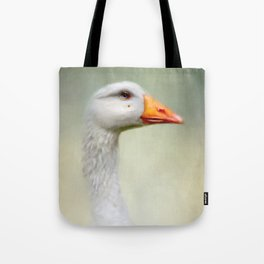 Goose with a beauty spot Tote Bag