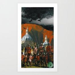 'untitled' Art Print