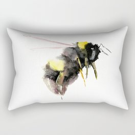 Bumblebee, bee art, bee design Rectangular Pillow