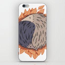 Hedgehog Yin Yang iPhone Skin