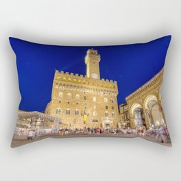 View of the Palazzo Vecchio Rectangular Pillow