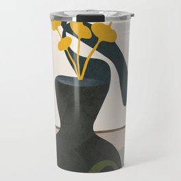 Branches in a Vase Travel Mug