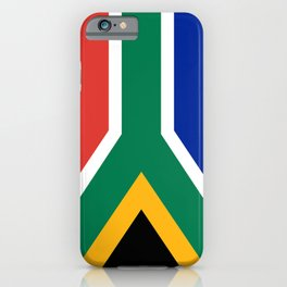 Flag of South Africa, Authentic color & scale iPhone Case
